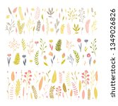 vector elegant cute flower big...   Shutterstock .eps vector #1349026826