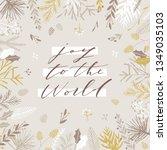 elegant stylish christmas...   Shutterstock .eps vector #1349035103