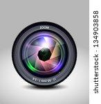 camera lens   Shutterstock .eps vector #134903858