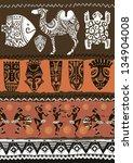 illustration vector.ethnic...   Shutterstock .eps vector #134904008