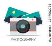 vector photographer studio...   Shutterstock .eps vector #1349062736