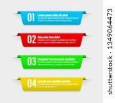 infographic banners... | Shutterstock .eps vector #1349064473