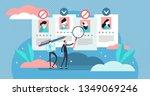 recruitment ageism vector... | Shutterstock .eps vector #1349069246