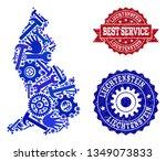 best service combination of... | Shutterstock .eps vector #1349073833