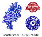 best service composition of... | Shutterstock .eps vector #1349076530