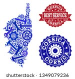 best service composition of... | Shutterstock .eps vector #1349079236