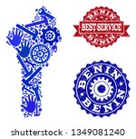 best service composition of... | Shutterstock .eps vector #1349081240