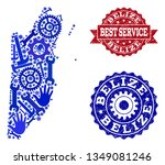 best service composition of... | Shutterstock .eps vector #1349081246