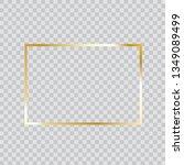 gold frame vector. trendy...   Shutterstock .eps vector #1349089499