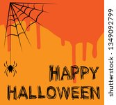 happy halloween illustration | Shutterstock .eps vector #1349092799