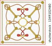 patten design for square... | Shutterstock .eps vector #1349102480