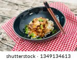 traditional home made chinese...   Shutterstock . vector #1349134613