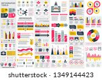 infographic elements data... | Shutterstock .eps vector #1349144423