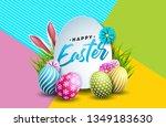 vector illustration of happy...   Shutterstock .eps vector #1349183630