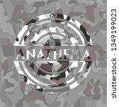 anathema on grey camo texture | Shutterstock .eps vector #1349199023