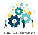 business concept of vector... | Shutterstock .eps vector #1349202569
