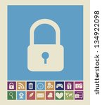illustration of icons of... | Shutterstock .eps vector #134922098