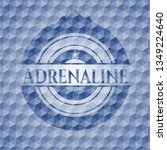 adrenaline blue emblem with...   Shutterstock .eps vector #1349224640