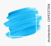 logo brush stroke painted... | Shutterstock .eps vector #1349237306