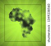 sketch blot dotty african... | Shutterstock . vector #1349238560