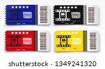vector cinema tickets isolated... | Shutterstock .eps vector #1349241320