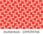 red color. abstract seamless... | Shutterstock .eps vector #1349254766