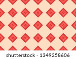 red color. abstract seamless... | Shutterstock .eps vector #1349258606