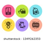 flight destination  coupons and ... | Shutterstock .eps vector #1349262353