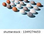 easter eggs minimal concept ... | Shutterstock . vector #1349274653