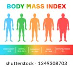 characterizing male silhouettes ... | Shutterstock .eps vector #1349308703