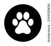 Paw Print Vector  White Paw In...