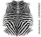 black and white zebra spots... | Shutterstock .eps vector #1349340863