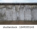 Front View Of A Section Of The...