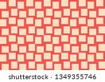 red color. abstract seamless... | Shutterstock .eps vector #1349355746