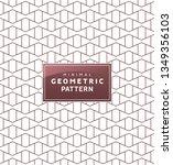 abstract geometric minimal... | Shutterstock .eps vector #1349356103