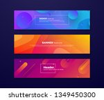 dynamic abstract fluid...   Shutterstock .eps vector #1349450300