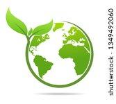world environmental  saving... | Shutterstock .eps vector #1349492060