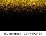 glitter gold bokeh colorfull... | Shutterstock . vector #1349492489