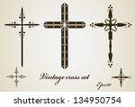 Religious cross set