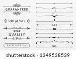 vintage premium label... | Shutterstock .eps vector #1349538539