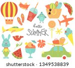 set of vector cartoon...   Shutterstock .eps vector #1349538839