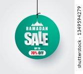 ramadan kareem sale vector... | Shutterstock .eps vector #1349594279