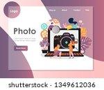 Photo Vector Website Template ...
