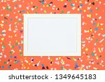 blank card with different... | Shutterstock . vector #1349645183
