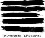 grunge paint roller . vector... | Shutterstock .eps vector #1349680463