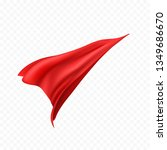 cape isolated on transparent... | Shutterstock .eps vector #1349686670