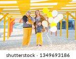 elderly stylish ladies plus...   Shutterstock . vector #1349693186