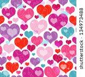 Seamless Vivid Valentine...