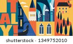 Travel To Italy Vector Banner ...