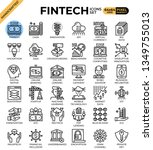 fintech  financial technology ...